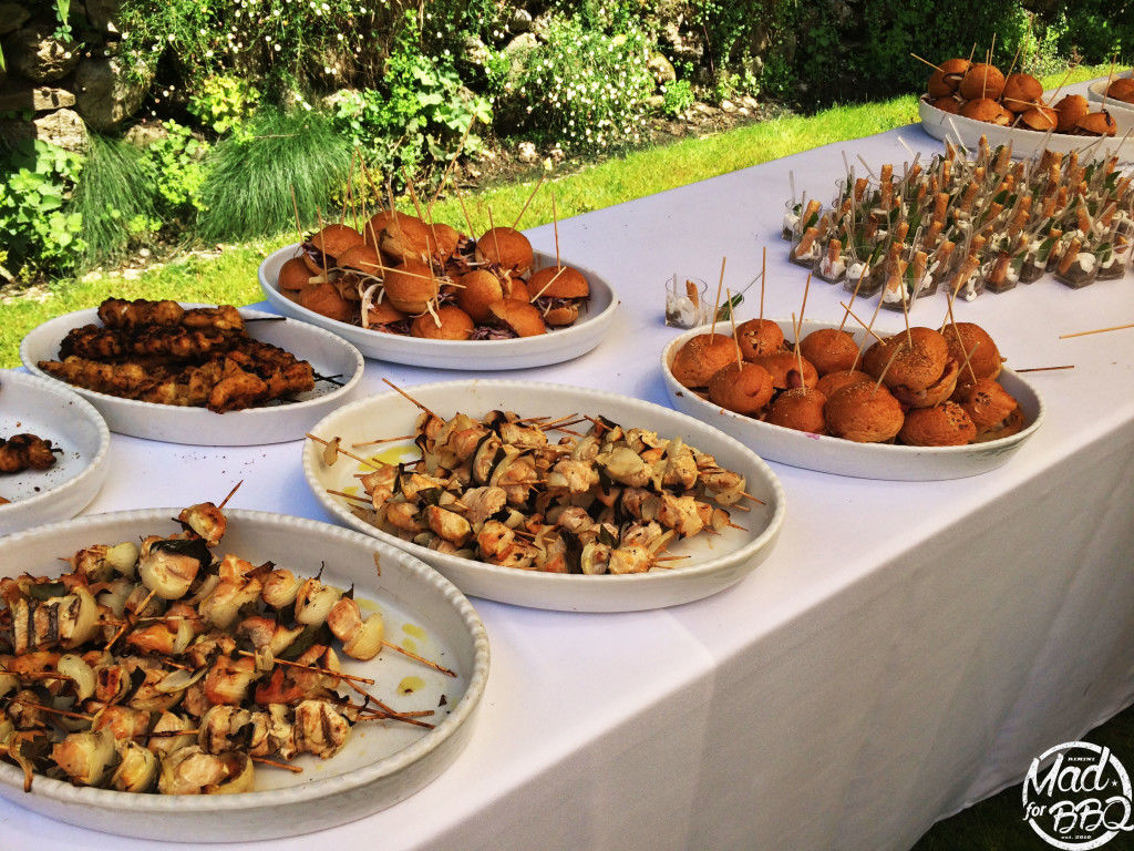 Buffet per Matrimonio - wedding backyard buffet - MAD for BBQ