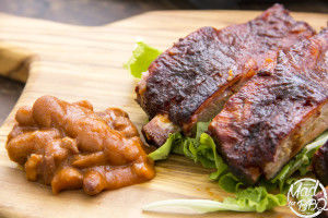 Smoked Pork Ribs low&Slow cooked from MAD for BBQ