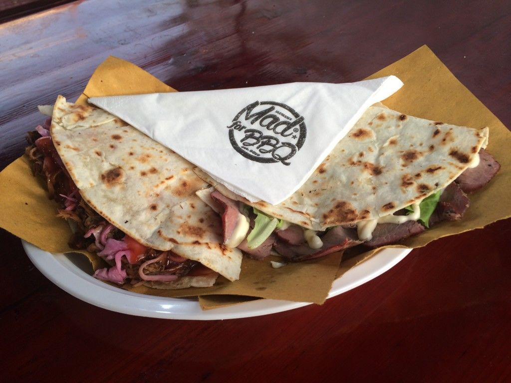 MAD for BBQ Triple P and Pit Beef Piadina