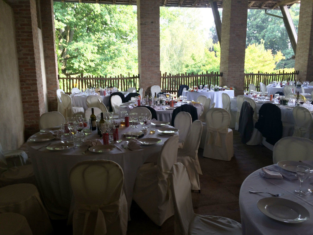 Disposizione Sala Matrimonio - wedding room set up - MAD for BBQ