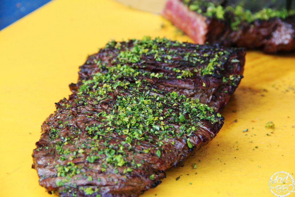Flank Steak con erbette mediterranee - Flank Steak with Mediterranean herbs